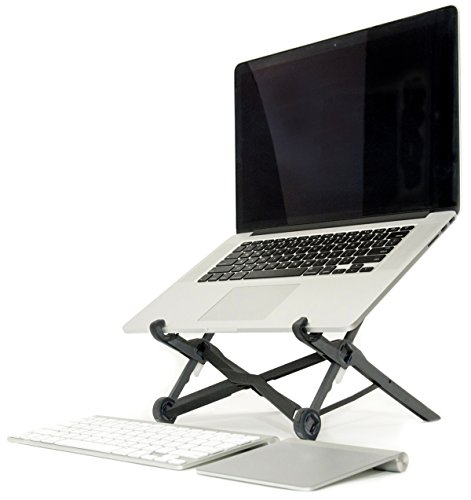Roost-Laptop-Stand-Portable-Adjustable-For-Apple-MacBook-and-PC-Eye-Level-Ergonomic-for-Productivity-Lightweight-folding-for-travel-Universal-Fit-Compact-Strong