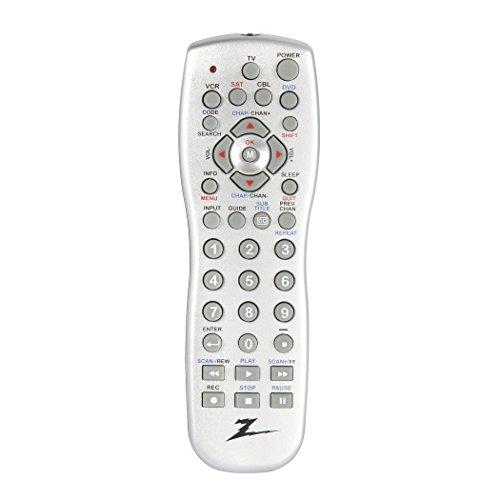 amertac-zenith-zp505-5-device-universal-remote-silver