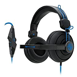 ENHANCE GX-H3 Stereo Gaming Headset with Over-Ear Headphones , Adjustable Mic & In-Line Volume Control - Works with Heroes of the Storm , Starcraft II , Call of Duty: Black Ops III & more