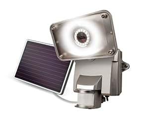 Amazon.com: MAXSA Innovations 44640 Silver Motion-Activated Solar LED