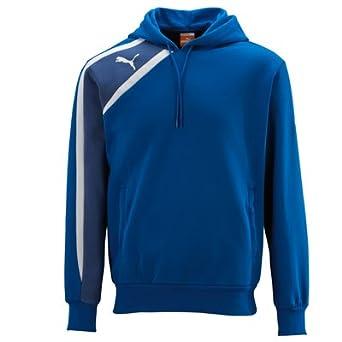 Puma Spirit Teamwear Mens Sweat Hoody Blue Size Small