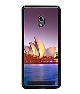 printtech Lotus Australia Building Back Case Cover for Asus Zenfone 6 A600CG