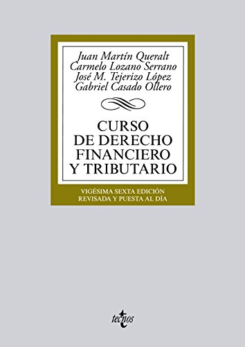 CURSO DE DERECHO FINANCIERO Y TRIBUTARIO