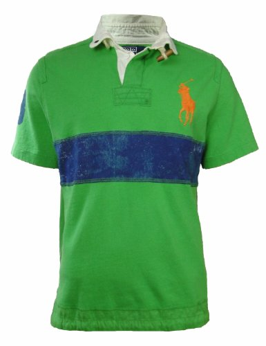 Polo Ralph Lauren Custom-Fit Paint Stripe Rugby