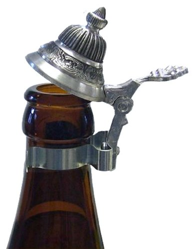 Bottle Pewter Beer Stein Lid (Funny Beer Stein compare prices)