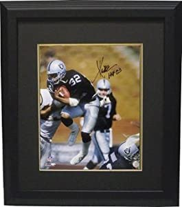 Marcus Allen Autographed Hand Signed Oakland Raiders 16x20 Photo HOF 03 Custom... by Hall of Fame Memorabilia