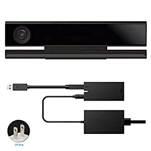 Xennos NEW HOT SALES For Kinect 2.0 Sensor USB 3.0 Adapter For Xbox One S Xbox One X Windows PC 25167cm - (Plug Type: US to UK plug)