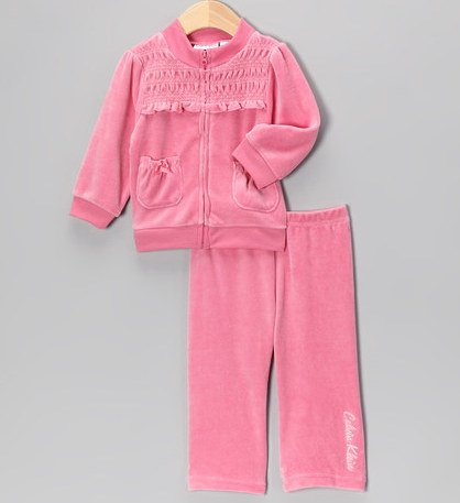 Calvin Klein Baby/Infant Girl's Jacket & Pant