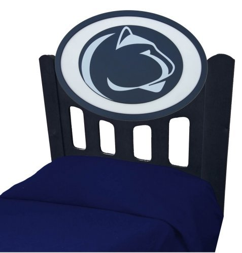 Adventure Furniture C0526S-Penn State Penn State University Stained Headboard- Twin