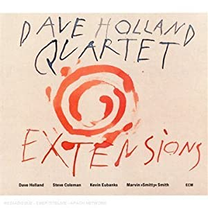Dave Holland: Extensions cover