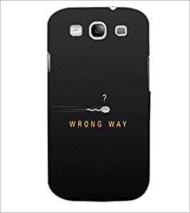 PrintDhaba Quote D-2273 Back Case Cover for SAMSUNG GALAXY S3 (Multi-Coloured)