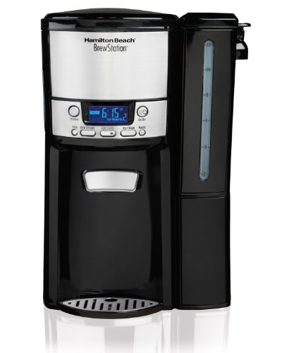 Hamilton Beach 12-Cup Coffee Maker, Programmable BrewStation Dispensing Coffee Machine (47900) (Hamilton Beach Brew Stations compare prices)