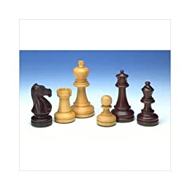 820.40 3.75-Inch Tournament Rosewood Chessmen