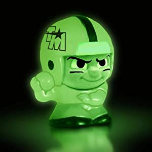 2012 NFL Teenymates Glow-In-The-Dark Football QB Figure (RARE) 1:64 Packs