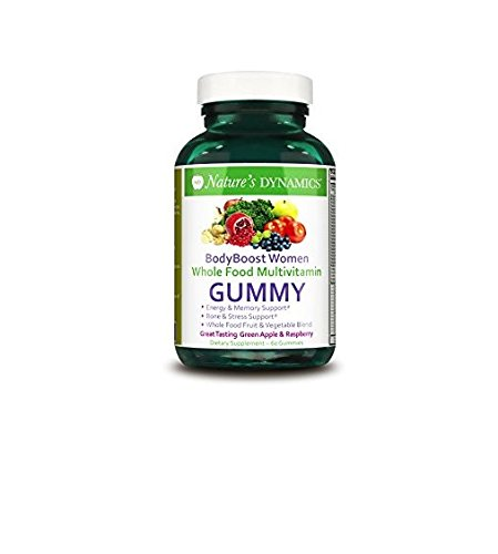 Bodyboost Women's Organic Multivitamin 60 Gummies