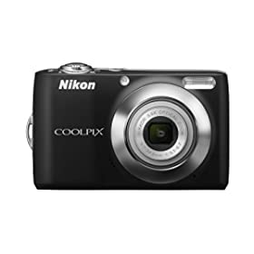 Nikon Coolpix L22 12.0MP Digital Camera with 3.6x Optical Zoom and 3.0-Inch LCD (Black) - $69.00