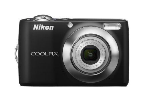 Nikon Coolpix L22 12.0MP Digital Camera with 3.6x Optical Zoom and 3.0-Inch LCD (Black)