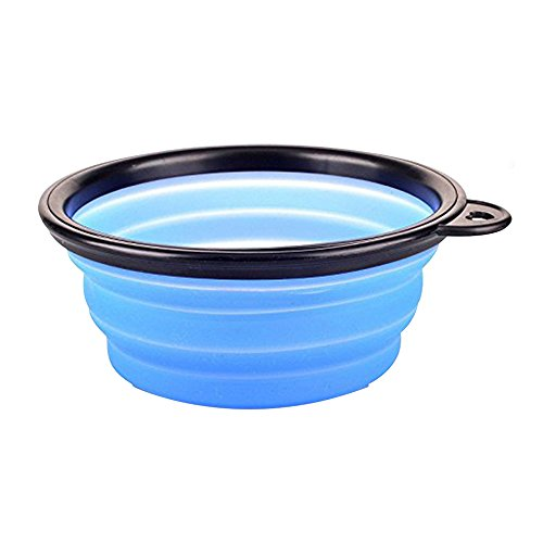 LuWees Travel Dog Bowl Collapsible