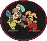 Disney Alice in Wonderland - Mad Hatter & Hare Patch