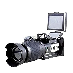 Generic 16MP HD Camcorder Digital Video Camera Recorder DVR With Remote Control 8X Zoom