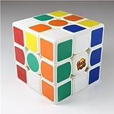 GoodPlay Gans III GAN 3-57 Gan357 Ganspuzzle 3x3 Speedcube Puzzle White(+a Cube Tripod)