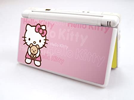 HELLO-KITTY-BEAR Decorative Protector Skin Decal Sticker for Nintendo DS Lite