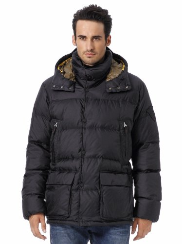 Bogner Fire + Ice Herren Daunenjacke CLAY-D, black, 56