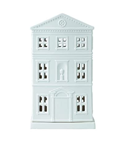 Wedgwood Tea Light Holder House, White