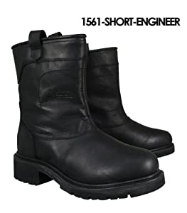 Xelement Mens Short Engineer Leather Boots - 9 1/2