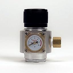 Portable Mini CO2 Regulator with Pressure Gauge for Homebrew Beer Kegging