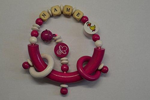 baby-greifling-anneau-de-dentition-jouet-educatif-en-bois-pour-fille-rose-canard