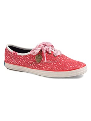 Buy Keds Ch Ts Metallic Lace Red by Keds