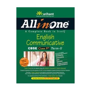 All in One English Communicative CBSE Class 9th Term - II