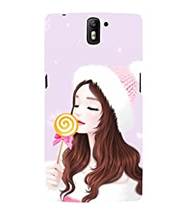 Queen ready 3D Hard Polycarbonate Designer Back Case Cover for OnePlus One