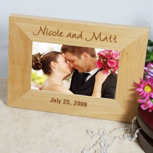Personalized Wedding Frame