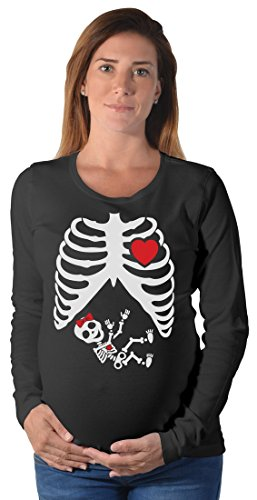 Halloween Skeleton Baby Long Sleeve T-Shirt