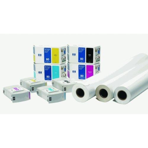 Ink cartridge n°80 black 350ml (C4871A) HP C4871A
