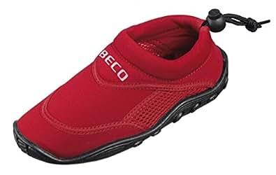 BECO Badeschuhe / Surfschuhe für Kinder rot 23