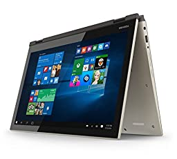 Toshiba Satellite Fusion 15 L55W-C5259 15.6-Inch Convertible 2 in 1 Touchscreen Laptop