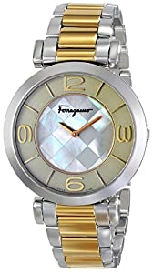 Salvatore Ferragamo Women's FG3060014 GANCINO DECO Analog Display Quartz Two Tone Watch