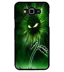 ColourCraft Flaming Eyes Flower Design Back Case Cover for SAMSUNG GALAXY GRAND 3