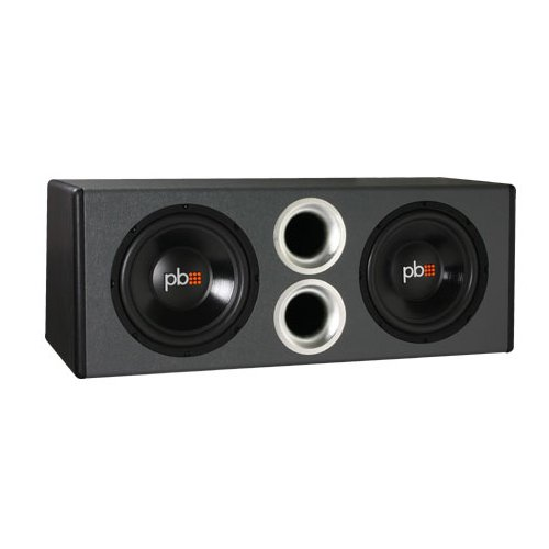 Powerbass Pswb12 Dual 12-Inch Loaded Enclosure