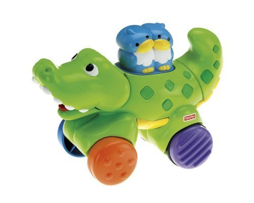Fisher-Price Amazing Animals Press & Go Crocodile [Baby Product]