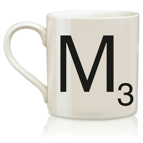 Wild and Wolf Ltd Scrabble Alphabet Mug – M * Harsboro Coffee Mug Beverage SCR013