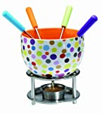 Orka Chocolate Fondue Set, Spots