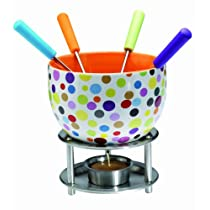 Mastrad Chocolate Fondue Set Spots