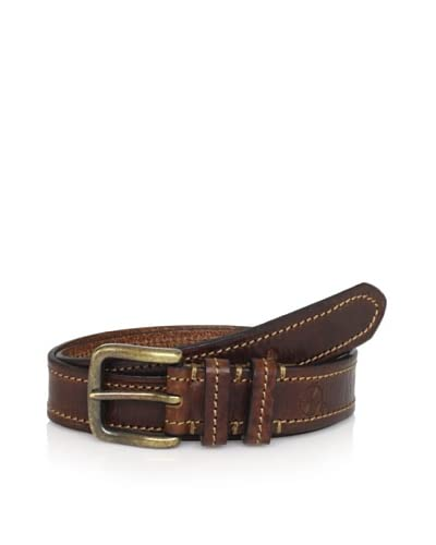 Maker & Company Men's Contrast Stitched Belt