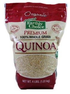 Nature's Earthly Choice: Organic Quinoa (3 x 4 lbs)