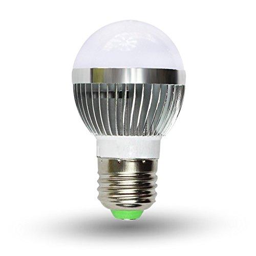 Low-Cost Energy-Efficient Led Light Bulb- 5-Watt Soft White 3000K E27 Medium Base To Replace 25W Incandscent