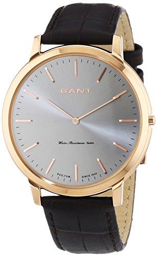 GANT HARRISON - Reloj Analógico de Cuarzo para Hombre, correa de Cuero color Marrón